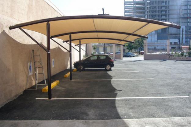 Lonas gaona for Toldos para estacionamiento